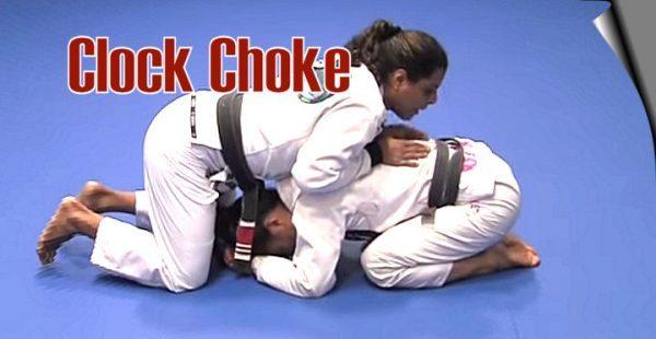 How to do the Clock Choke technique in Jiu Jitsu