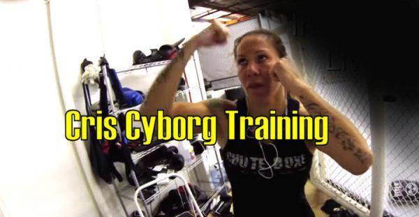 This is Cris Cyborg MMA Training