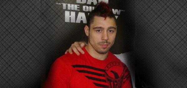 Dan Hardy Training Hard for the UFC