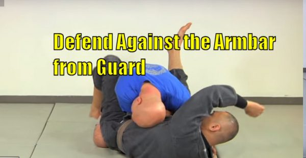 How to Defend Against the Armbar from Guard