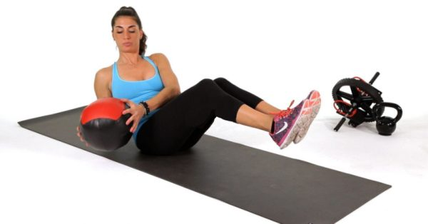 How to Do Medicine Ball Side Twists