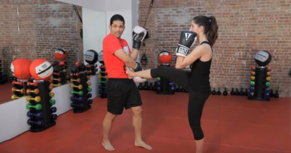 How to Do a Front Kick Defense