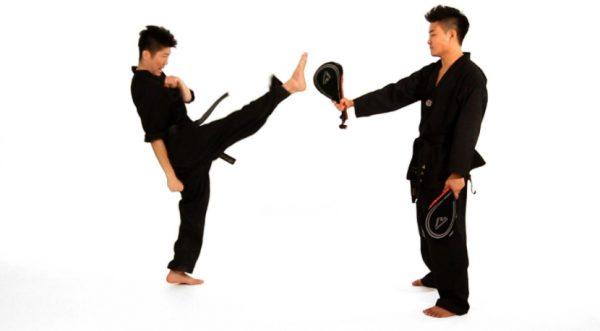 Front Kick in Taekwondo