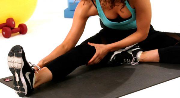 How to Do a Seated Split Stretch