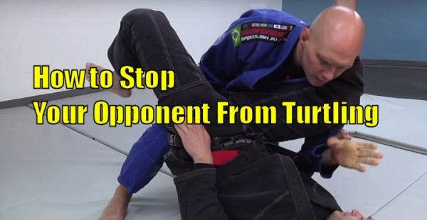 How to Stop Your Opponent From Turtling During the Guard Pass
