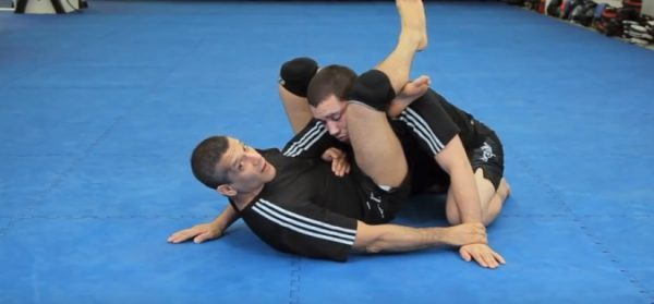 How to do a Triangle Choke from Guard Using Overhook
