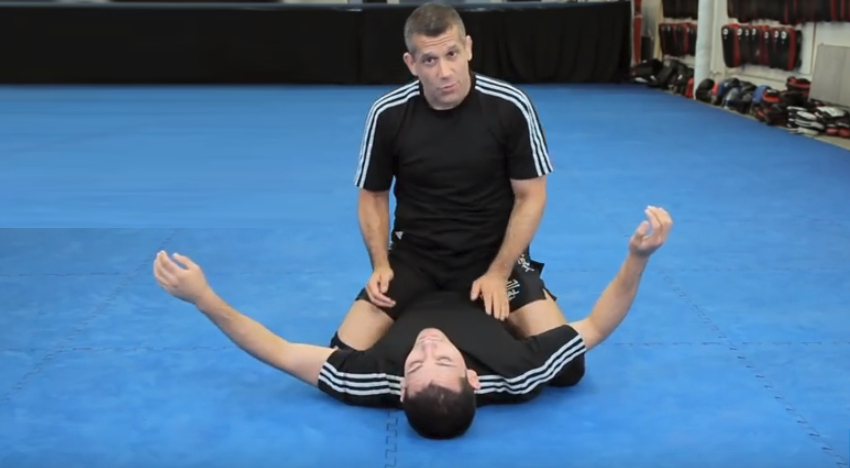 How To Do An Arm Triangle Choke From Modified Mount