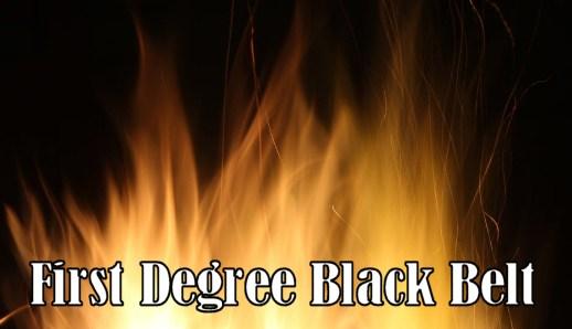 American Kenpo Karate First Degree Black Belt