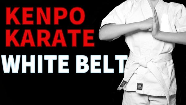 Master the White Belt in Kenpo Karate