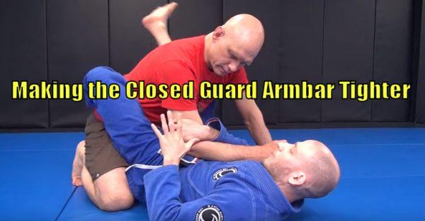 Closed Guard Armbar