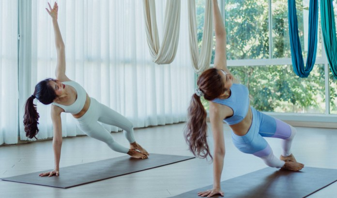 The Side Plank Pose in Yoga