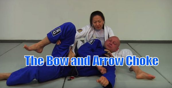 How to do The Bow and Arrow Choke