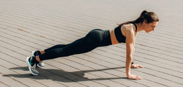 The Plank Pose in Yoga Step by Step