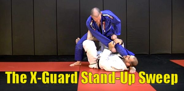 How to do the X-Guard Stand-Up Sweep