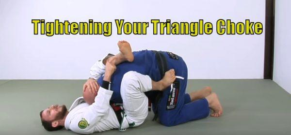 Tight Triangle Choke
