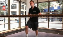 Using a Step Box in Footwork Training Boxing Lessons