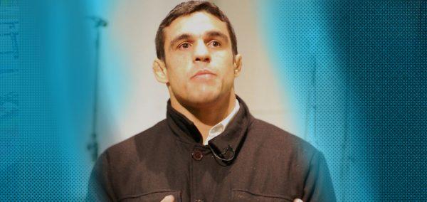 Vitor Belfort training MMA
