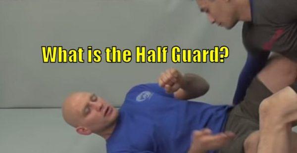 What is the Half Guard in Brazilian Jiu Jitsu