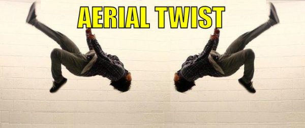 How to do the Aerial Twist