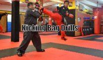 Bag Drills for martial arts
