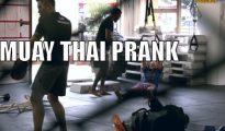 The Girl Muay Thai Prank