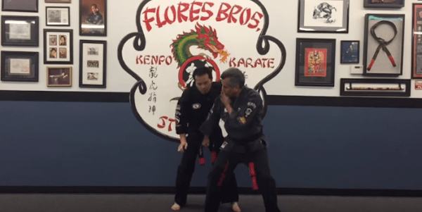 How to do Obscure Wing Self Defense Technique