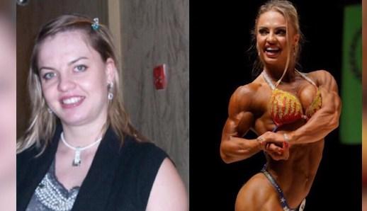 Eleonora Dobrinina womens bodybuilding