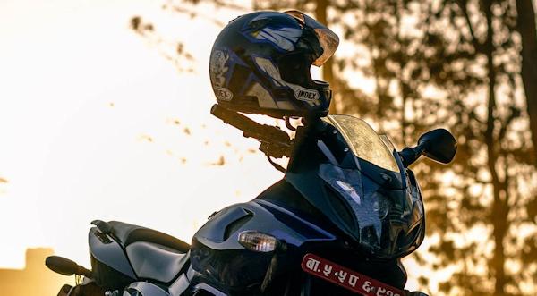 Motorcycle Helmet Cleaning