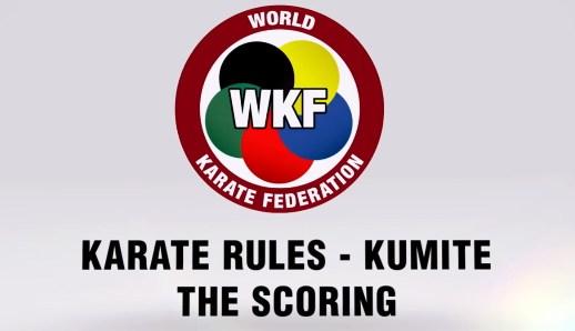 The Kumite Scoring