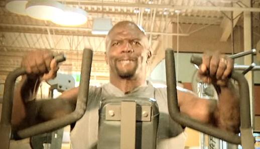 Terry Crews workout