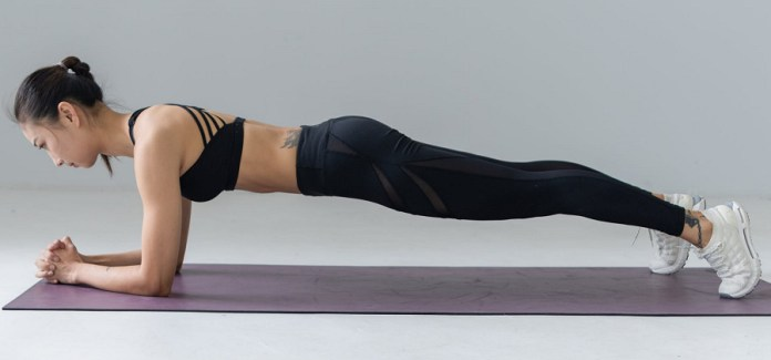 Forearm and Elbow Plank