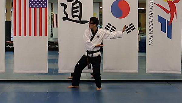 This is Koryo Black belt Taekwondo form