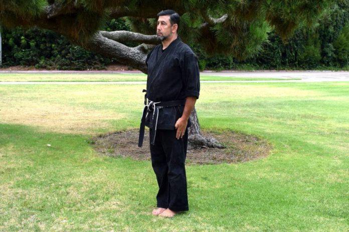 Attention Stance in Kenpo Karate