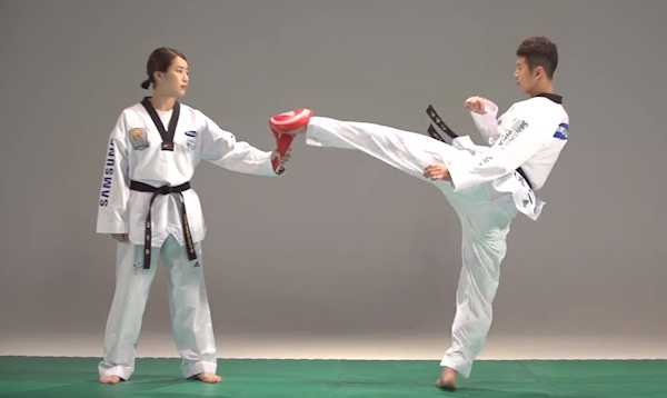 Master the Tornado Kick in Taekwondo