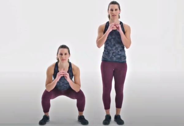 Side to Side Squat