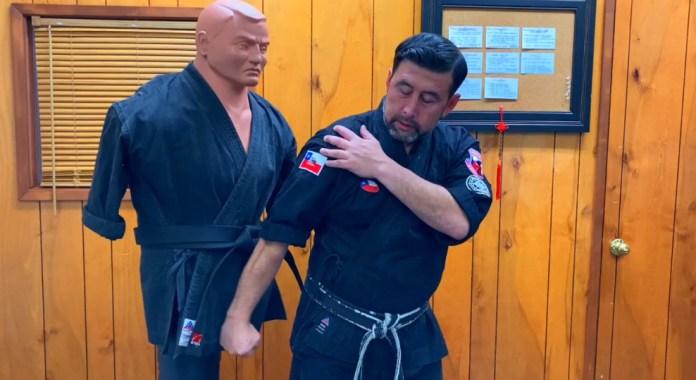 Back Hammerfist in Kenpo Karate
