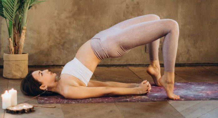 bridge exercise pose