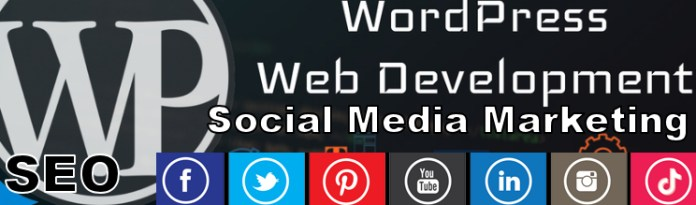 Social Media Marketing and SEO Banner