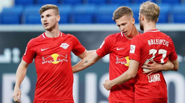 Leipzig sorted out with Hoffenheim thanks to the double Olmo