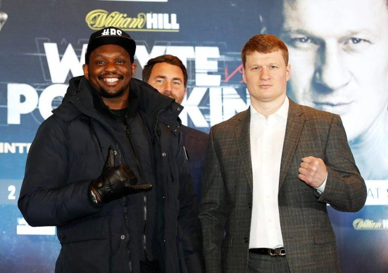 """Dillian White: """"I am disturbed by Povetkin, he is a dangerous fighter"""""""