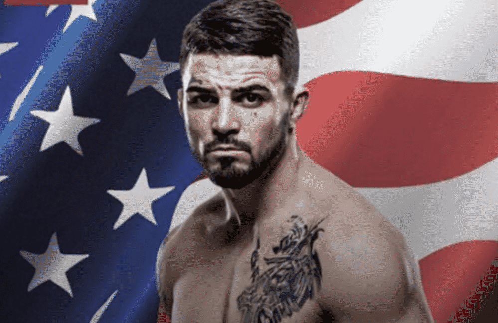 Mike Perry had a fight at the bar, knocked out a man with one hit. Video