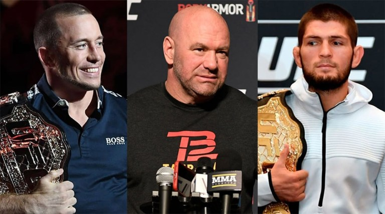 The head of the UFC considers the fight between Khabib and St. Pierre not the best idea