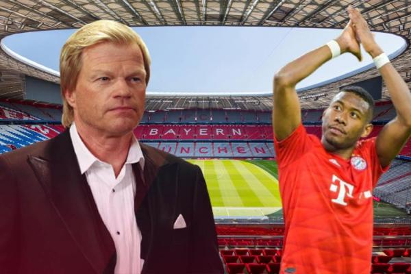 Oliver Kahn has confirmed that defender David Alaba wants to leave the club.