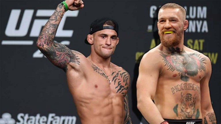 Conor McGregor is confident that one minute will be enough for him to knock out Dustin Poirier