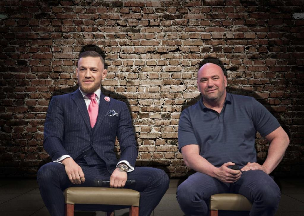Dana White says he has settled disputes with former two-division champion Conor McGregor