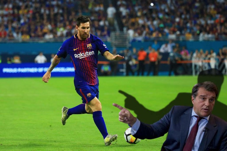 Joan Laporta shared his thoughts on the plans of Barcelona striker Lionel Messi.