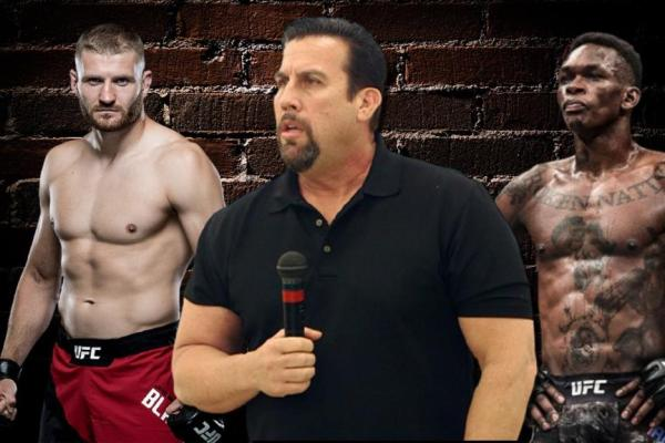 John McCarthy speaks out about the superfight of Israel Adesanya and Jan Blachowicz