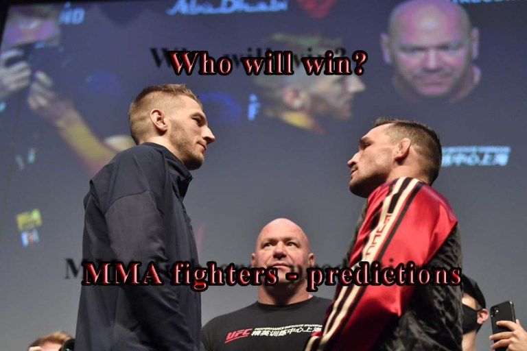 MMA fighters said predictions for the fight Dan Hooker – Michael Chandler