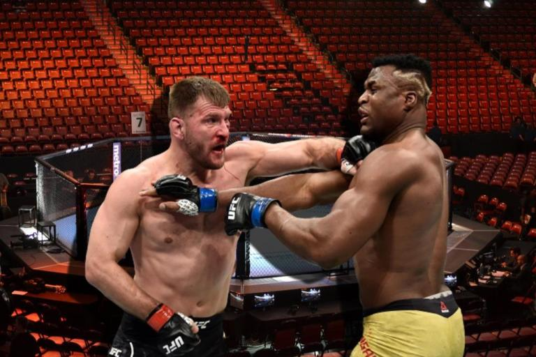 The timing of the rematch of Stipe Miocic and Francis Ngannou has become known.