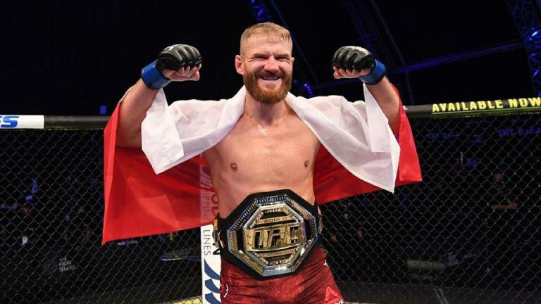 Jan Blachowicz spoke out about his move to heavyweight